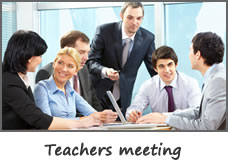 Teachers meeting